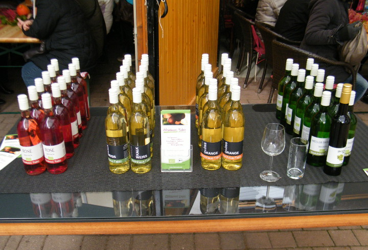 Weinwanderung Weinprobe